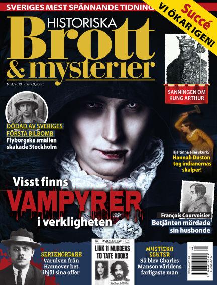 Historiska Brott & Mysterier April 18, 2019 00:00