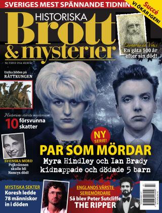 Historiska Brott & Mysterier 2019-09-03