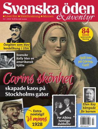 Svenska Öden & Äventyr 2018-07-31