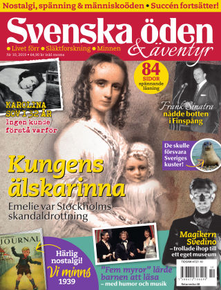 Svenska Öden & Äventyr 2019-10-29
