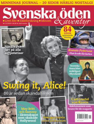 Svenska Öden & Äventyr 2020-10-29