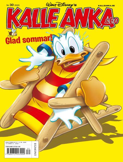 Kalle Anka & C:o July 21, 2020 00:00