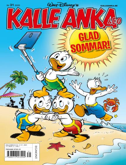 Kalle Anka & C:o July 28, 2020 00:00