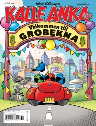 Kalle Anka & C:o Nr 36 2021