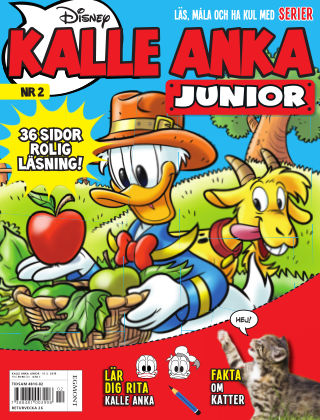 Kalle Anka Junior 2019-04-30