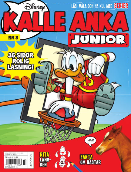 Kalle Anka Junior (Inga nya utgåvor) July 11, 2019 00:00