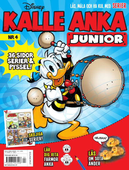 Kalle Anka Junior (Inga nya utgåvor) September 19, 2019 00:00