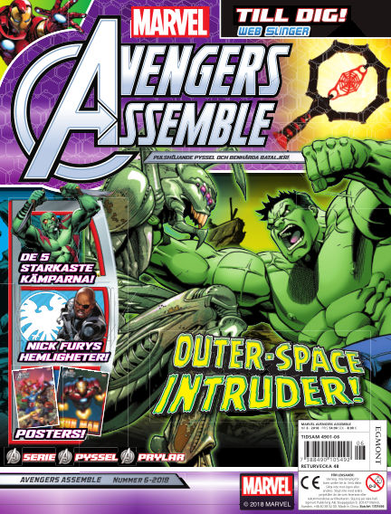 Marvel Avengers October 16, 2018 00:00