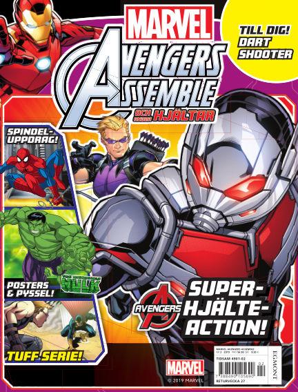 Marvel Avengers April 30, 2019 00:00