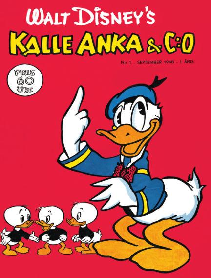 Kalle Anka & C:o 1948