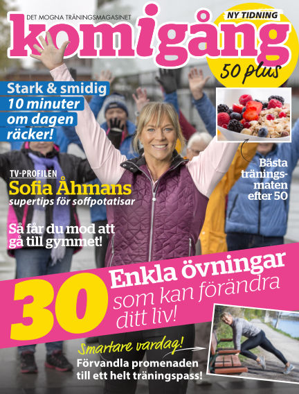 Kom igång 50 plus January 23, 2019 00:00
