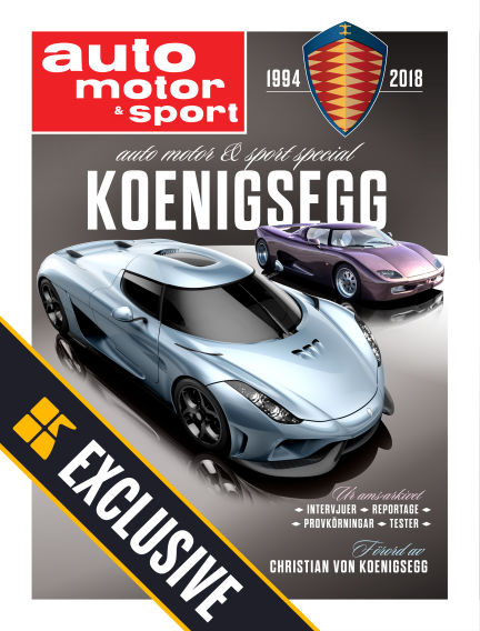 Auto Motor & Sport Readly Exclusive September 14, 2018 00:00