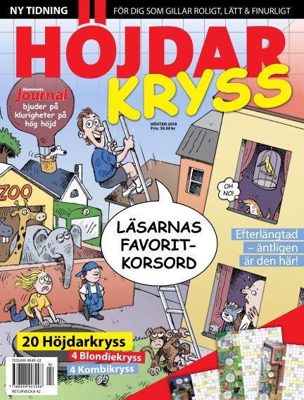 Höjdarkryss May 15, 2019 00:00