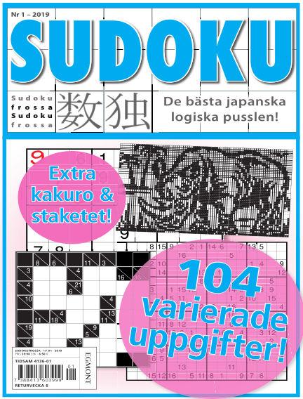 Sudoku Frossa January 10, 2019 00:00