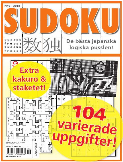 Sudoku Frossa October 25, 2018 00:00