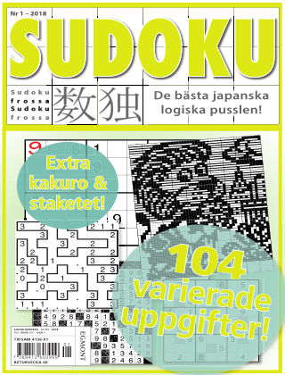 Sudoku Frossa 2018-01-11