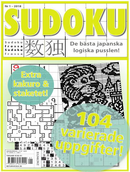 Sudoku Frossa January 11, 2018 00:00