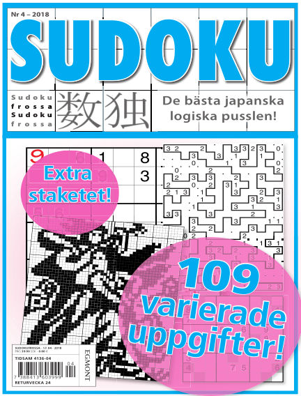 Sudoku Frossa April 26, 2018 00:00