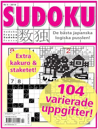 Sudoku Frossa 2018-03-22