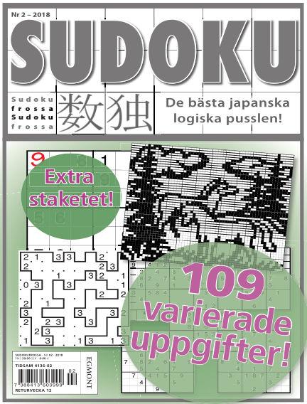 Sudoku Frossa February 08, 2018 00:00