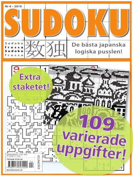 Sudoku Frossa April 25, 2019 00:00