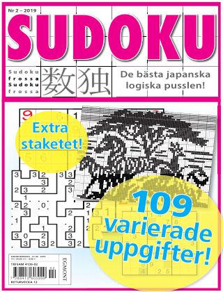 Sudoku Frossa 2019-02-07