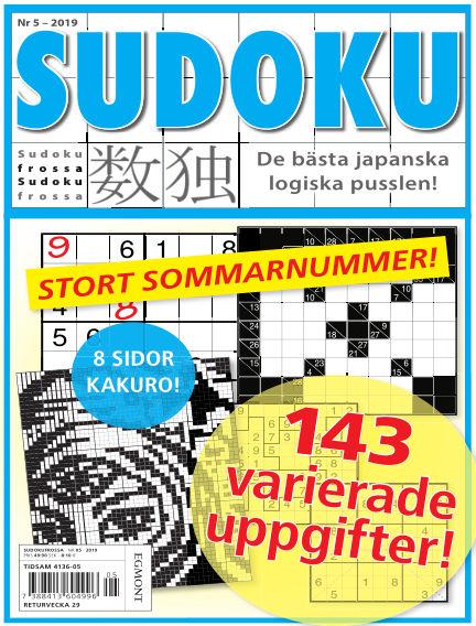 Sudoku Frossa June 14, 2019 00:00