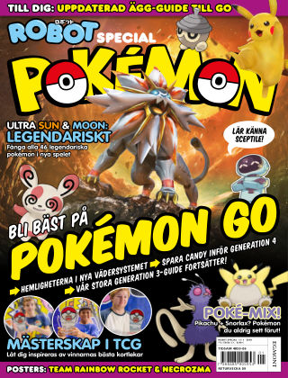 Robot Special: Pokémon 2018-02-01