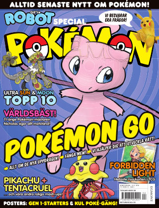 Robot Special: Pokémon 2018-05-29
