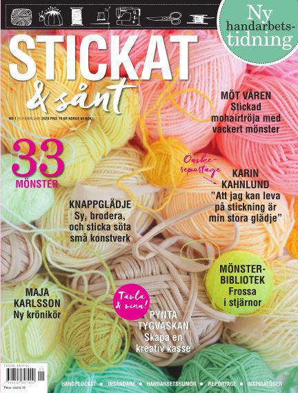 Stickat & Sånt February 25, 2020 00:00