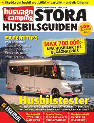 Husvagn & Camping Stora Husbilsguiden Readly Exclusive 2021-05-28