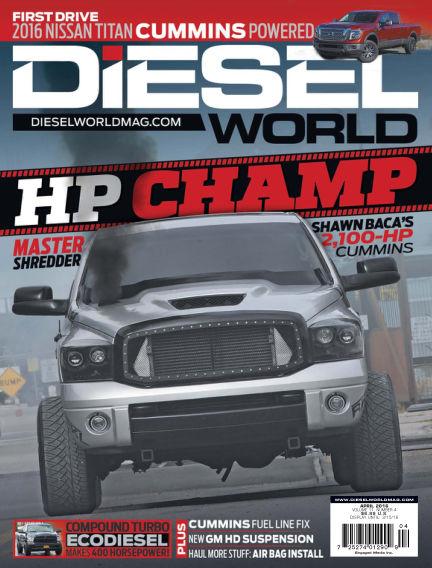 Diesel World February 22, 2016 00:00