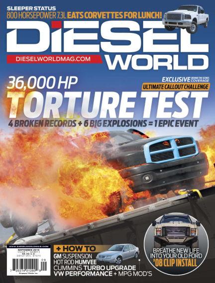 Diesel World July 25, 2016 00:00
