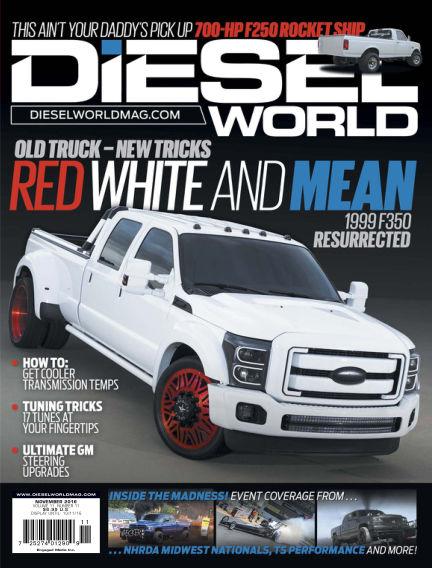 Diesel World September 30, 2016 00:00