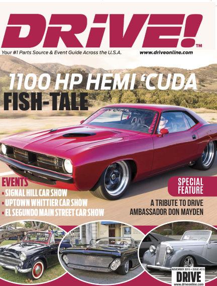 DRIVE! October 05, 2015 00:00