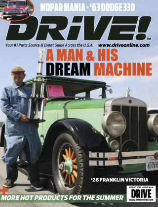 DRIVE! August 2016