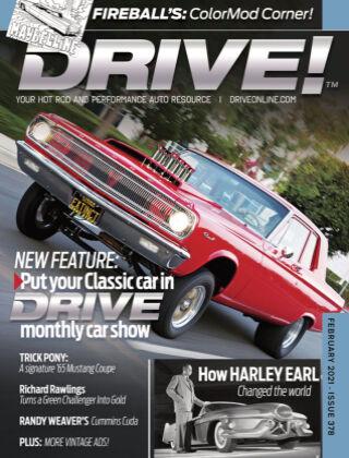 DRIVE! February 2021