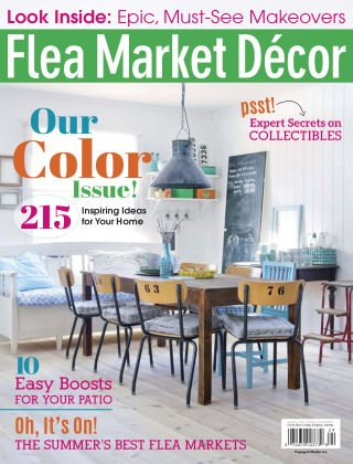 Flea Market Décor Sep-Oct 2017