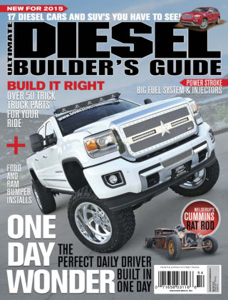 Ultimate Diesel Builder's Guide Aug-Sep 2015
