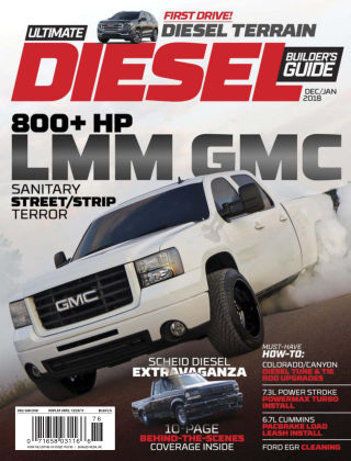 Ultimate Diesel Builder's Guide Dec-Jan 2018
