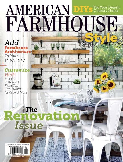 American Farmhouse Style February 08, 2019 00:00