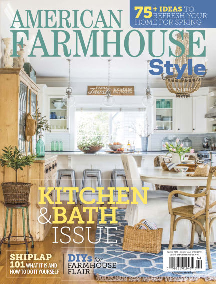 American Farmhouse Style March 13, 2018 00:00