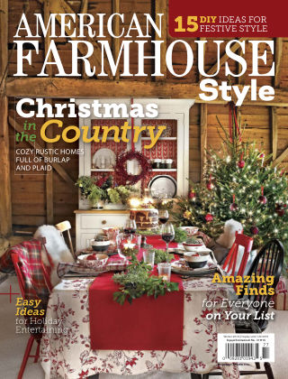 American Farmhouse Style Winter2018