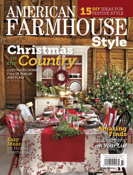 American Farmhouse Style November 06, 2018 00:00