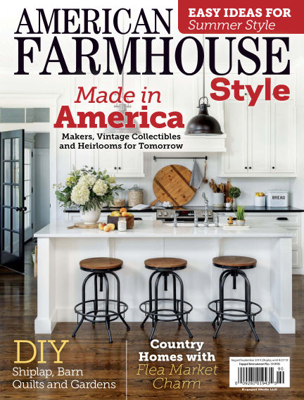 American Farmhouse Style July 01, 2019 00:00