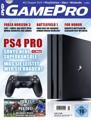 GamePro 11/2016