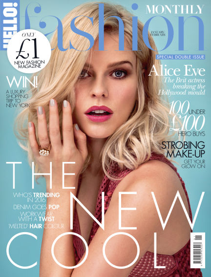 HELLO! Fashion Monthly December 01, 2015 00:00