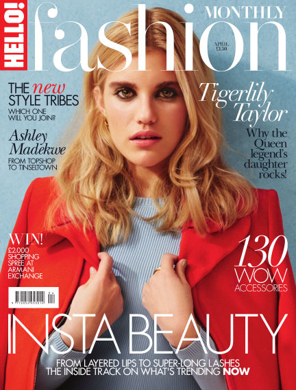 HELLO! Fashion Monthly March 03, 2016 00:00