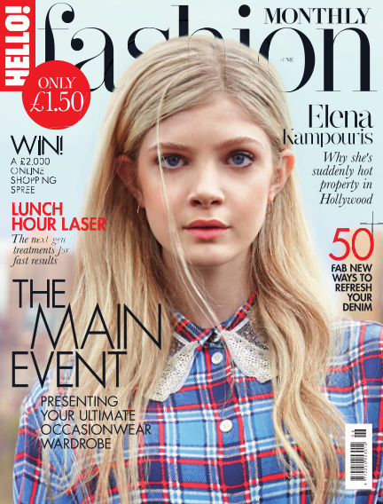 HELLO! Fashion Monthly May 05, 2016 00:00