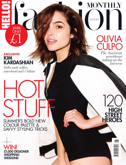 HELLO! Fashion Monthly July 07, 2016 00:00